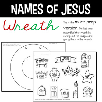 Christian Wreath - Names of Jesus