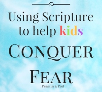 Draw, Trace,  Write - Using the Bible to Help Children Conquer Fear