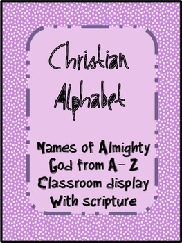 Christian alphabet
