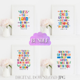 Christian bible quotes posters bundle Vol. 18 - Sunday sch