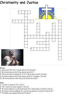 Christianity (Christian) Crosswords for Religious Studies