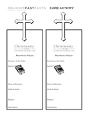 Christianity Fast Fact Card