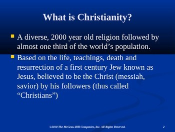 Christianity Powerpoint