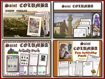 Christianity: St. Columba Activity Bundle