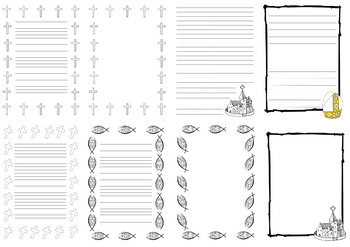 Christianity Themed Papers/Templates