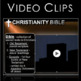 Christianity (World Religions) PowerPoint w/Video Clips + Presenter Notes