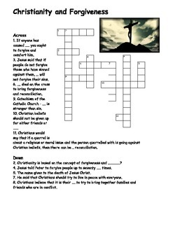 Christianity and Forgiveness Crossword