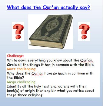 Christianity and Islam Bundle