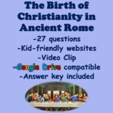 Christianity in Ancient Rome Webquest