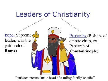 Christianity in the Byzantine Empire/Iconoclastic Controversy/Great Schism