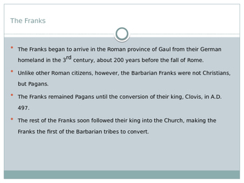Christianity in the Frankish Empire