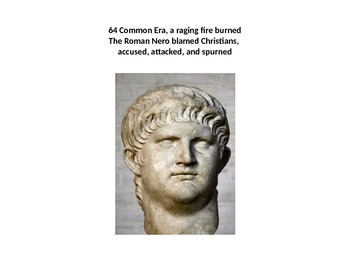 Christianity in the Roman Empire Illustrated Power Point poem