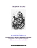 Christmas Recipes FREE Printable Recipe Booklet
