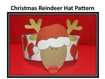 Christmas  Reindeer Hat Pattern