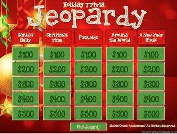 christmas jeopardy - Christmas Jeopardy