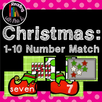 Christmas 1-10 Number Match Puzzle