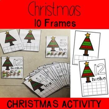 Christmas 10 Frame 1-20