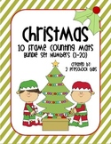 Christmas 10 Frame Counting Mats Set (1-20)