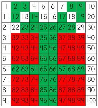 Christmas 100-Grid Pics