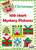 Christmas 100 chart Mystery Picture