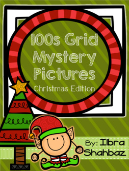 Christmas 100s Grid Mystery Picture Puzzles