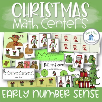 Christmas 12 Math Tasks