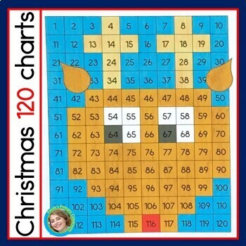 Christmas 120 Chart Mystery Pictures