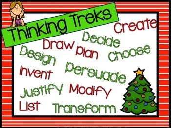 Christmas Activities: Christmas Task Cards for Creative and Critical Thinking
