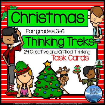 Christmas Activities: Christmas Task Cards for Creative an