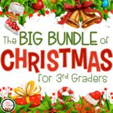 3rd Grade Christmas Math & Grammar Worksheets