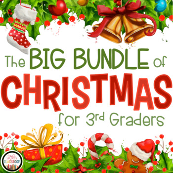 3rd grade christmas math grammar worksheets by kiki 39 s classroom. Black Bedroom Furniture Sets. Home Design Ideas
