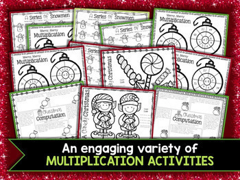 3rd Grade Christmas Math Worksheets & Christmas Activities