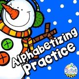 Christmas ABC Order: Alphabetical Order