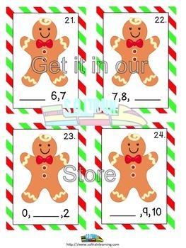 Gingerbread Man Math Game