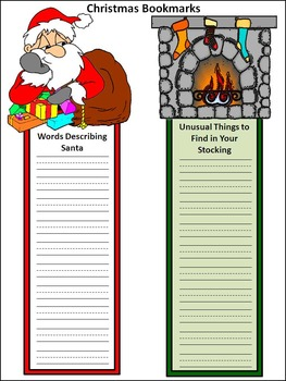 Christmas Writing Activities: Christmas Writing Projects Activity Packet