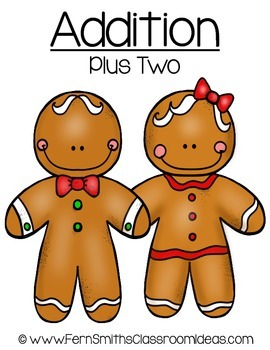Christmas Math Quick and Easy to Prep Addition Plus Two Ce