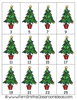 Christmas Math Quick and Easy to Prep Addition Doubles Plus One Center Game