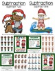 Christmas Math Quick and Easy to Prep Subtraction Center Games Bundle