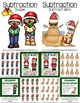 Christmas Math Quick and Easy to Prep Subtraction Center G