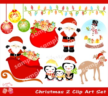 Christmas 2 Clipart Set