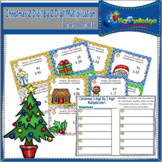 Christmas 2 Digit By 2 Digit Multiplication Task Cards Wit