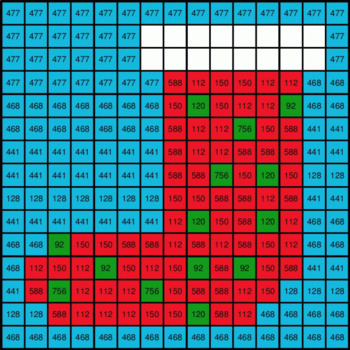 Christmas: 2-Digit by 1-Digit Multiplication - Mystery Picture - Google Forms