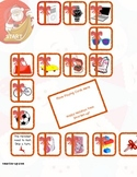 Christmas 2 x 1 Digit Multiplication File Folder Game