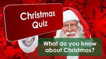 Christmas 2016: Quizzes