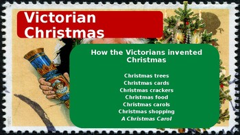 Christmas 2016:Victorian Christmas: How the Victorians invented Christmas.
