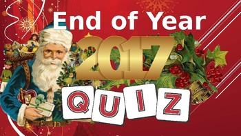 Christmas 2017: Quiz of the Year