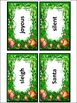 Christmas Spelling Activities: Christmas Words Flash-Card
