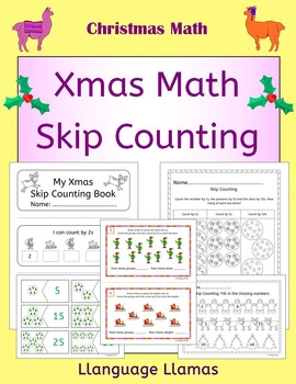 Christmas Skip Counting by 2s, 5s and 10s.