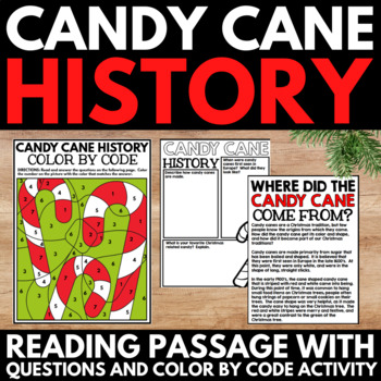 candy cane history christmas facts and information research project