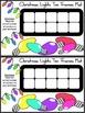 Christmas Game Activities: Christmas Lights Christmas Ten Frames Math Activity